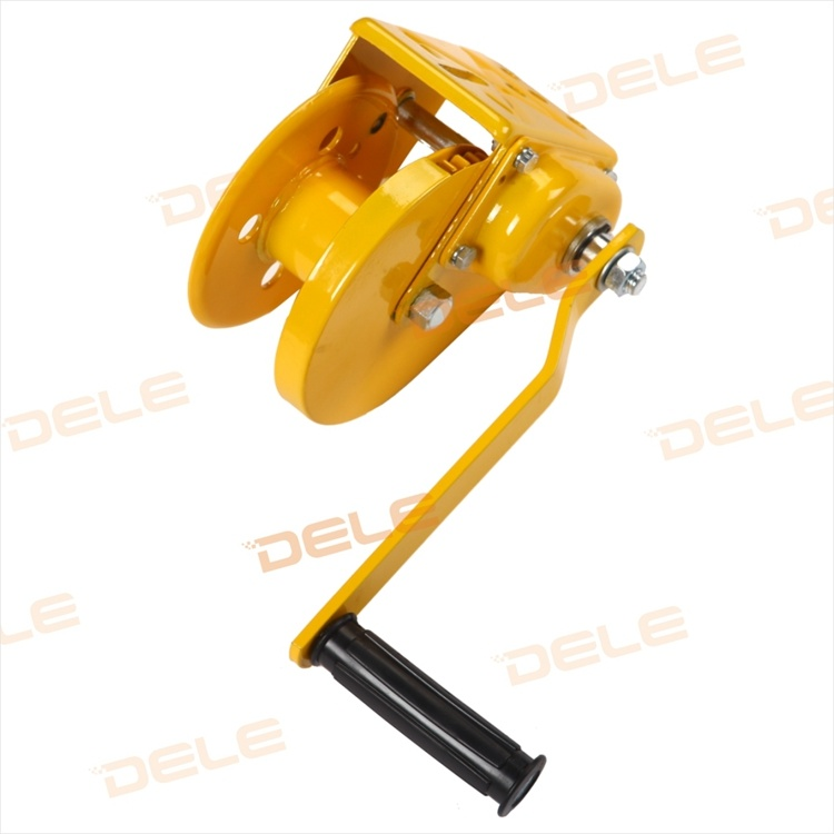 Yellow Colour Cable Series Hand Winch Tool