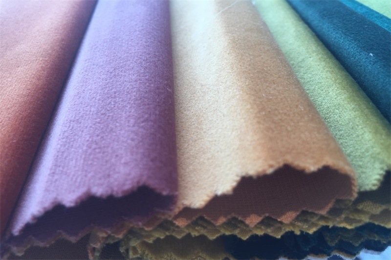 High Quality 100% Polyester Velvet Fabric for Sofa/Curtain