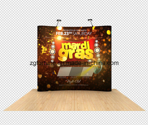 2017 Hot Sale Curved Straight Stretch Backdrop Display Tent Pop up