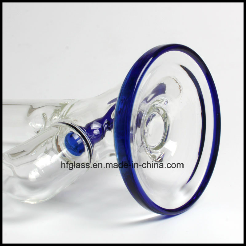 Hfy Glass 11.5 Inches Illadelph Blue Inline Perc Wholesales Factory Smoking Water Pipe