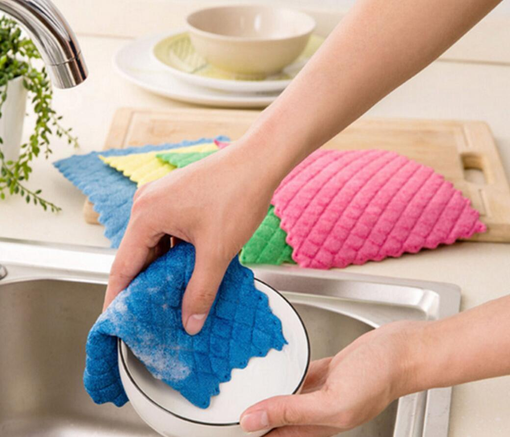 Microfiber Cleaning Pad (YYC-080)