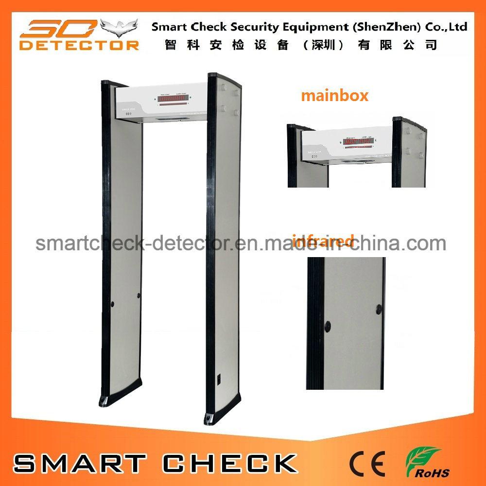 Single Zone Metal Detector Walk Through Door Frame Metal Detector
