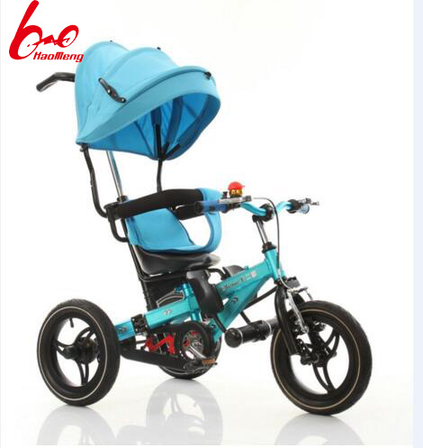 All Aluminium Alloy Multifunction Kids Tricycle