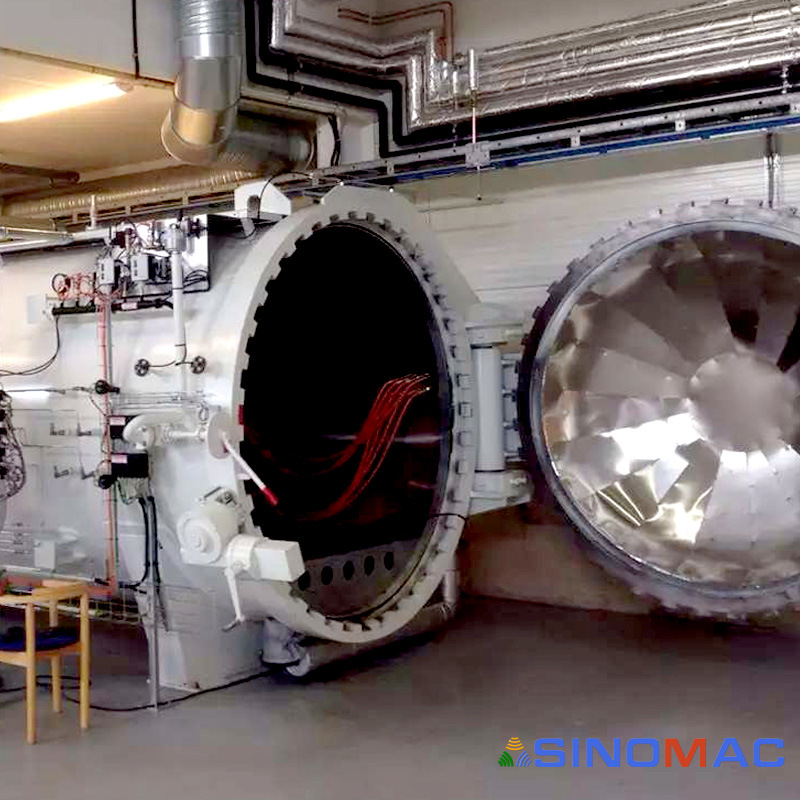 2800X8000mm Ce Approved Special Autoclave for Curing Composites (SN-CGF2880)