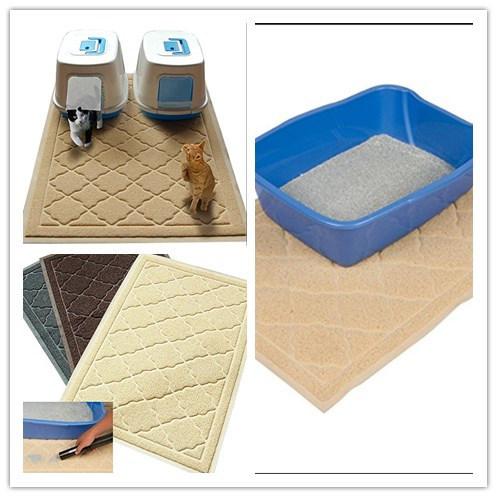 Non-Toxic Pet Toliet Mat Cat Litter Box Mat Dog Bath Mat