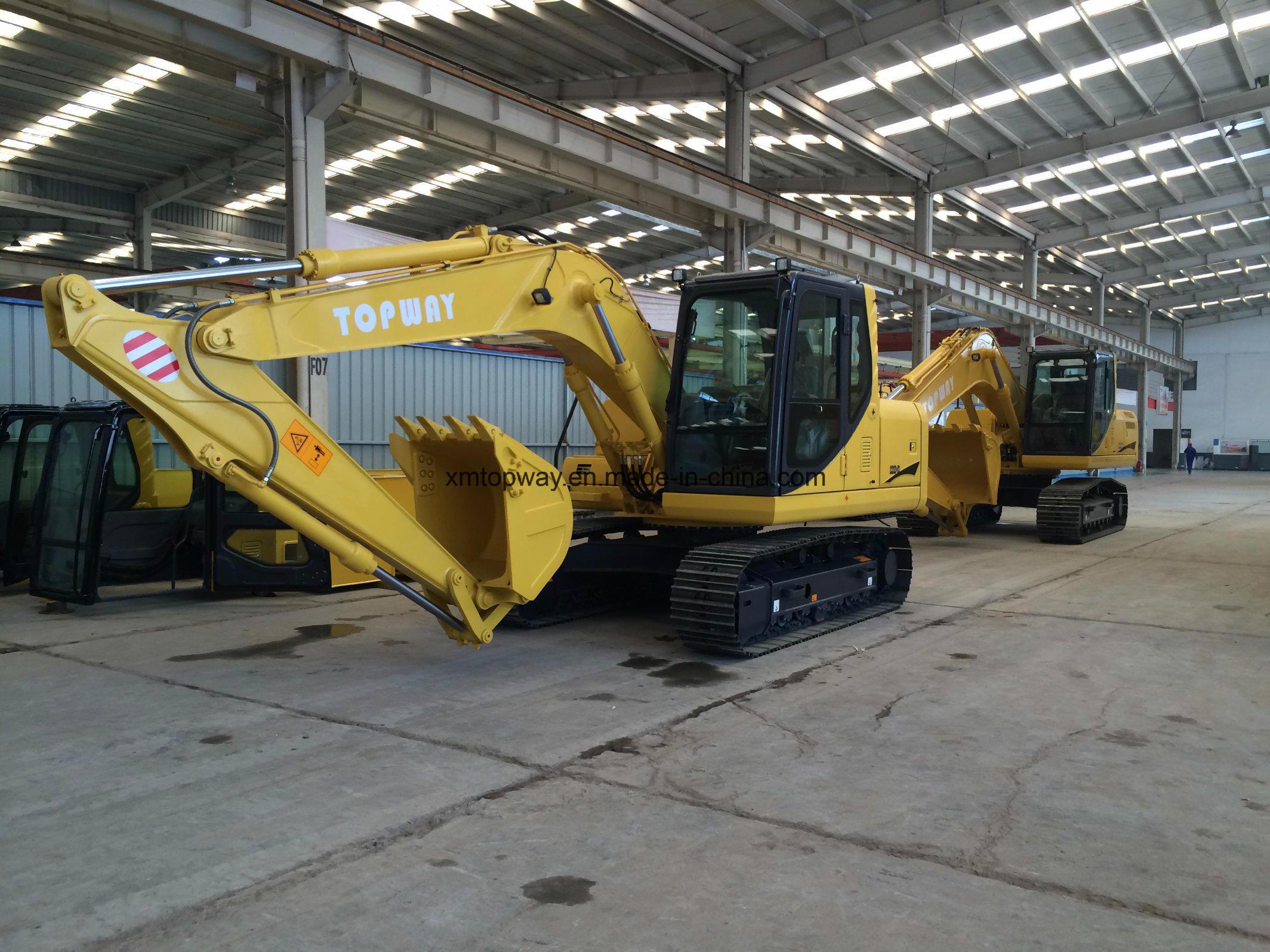 High Quality 21ton Isuzu Engine Crawl Excavator, Excavator, Hydraulic Excavator for Sale