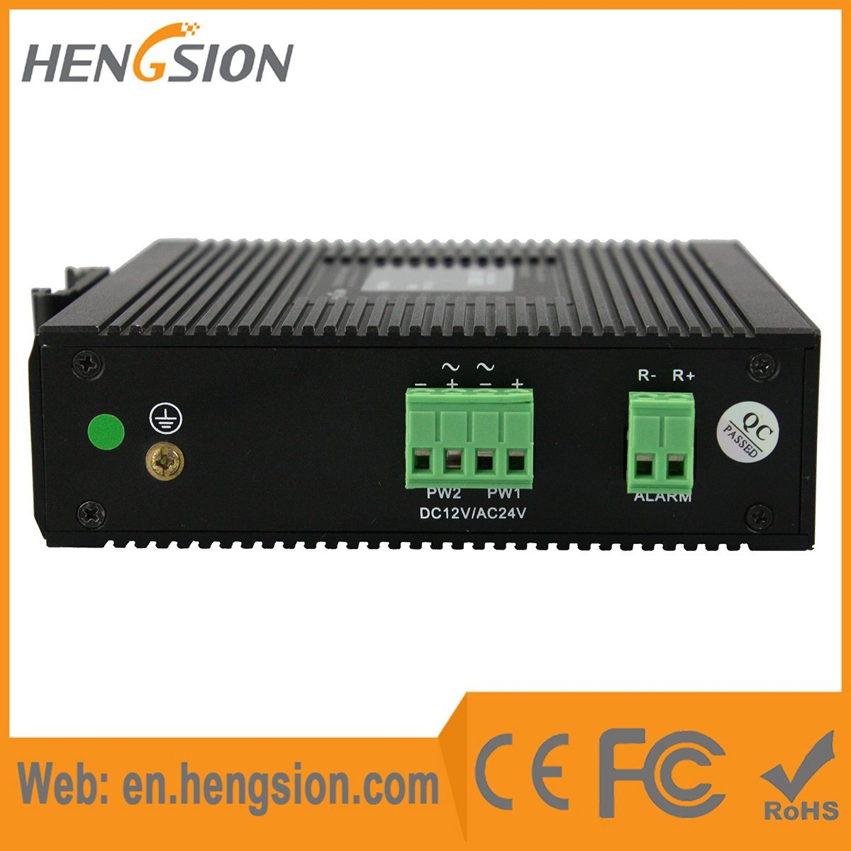 5 Megabit Port RJ45 Industrial Ethernet Network Switch