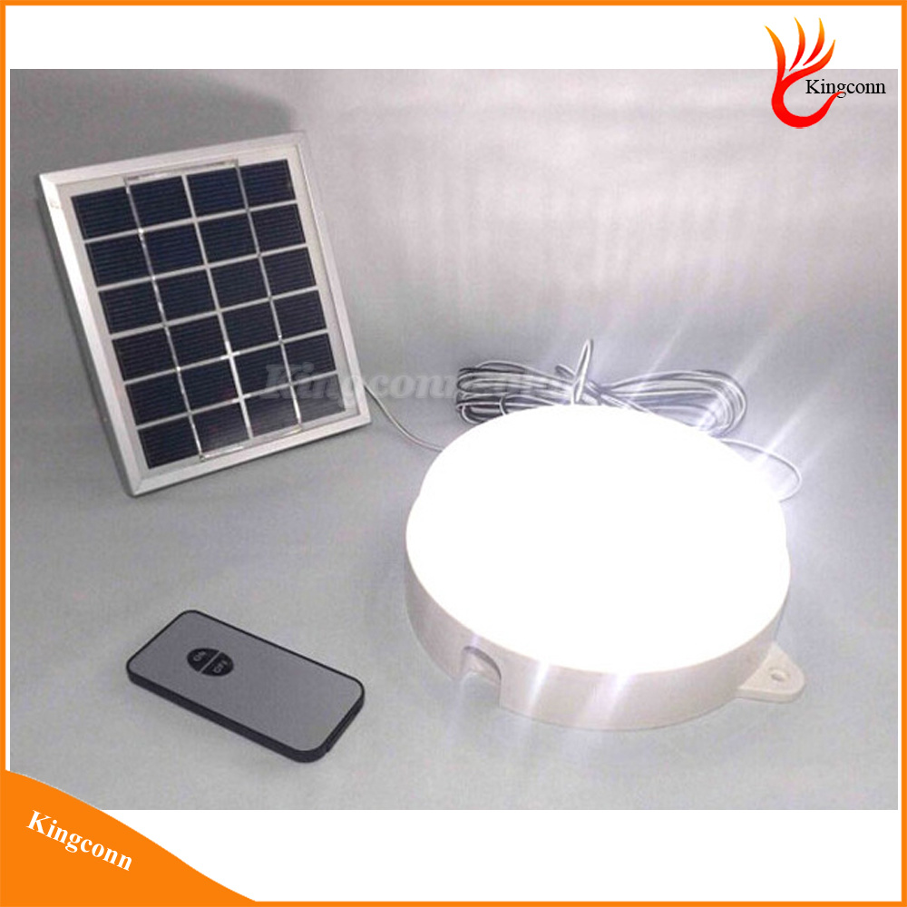 30LED Remote Control Rechargeable Solar Powered LED Indoor Light Solar Light Outdoor