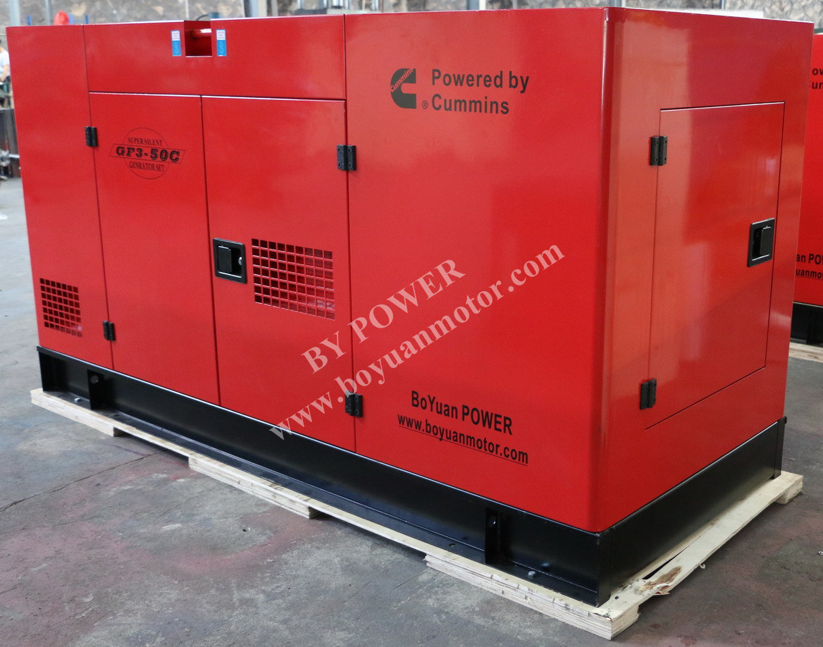 20kw~1000kw Cummins Portable Silent Diesel Power Generator Diesel Engine ATS
