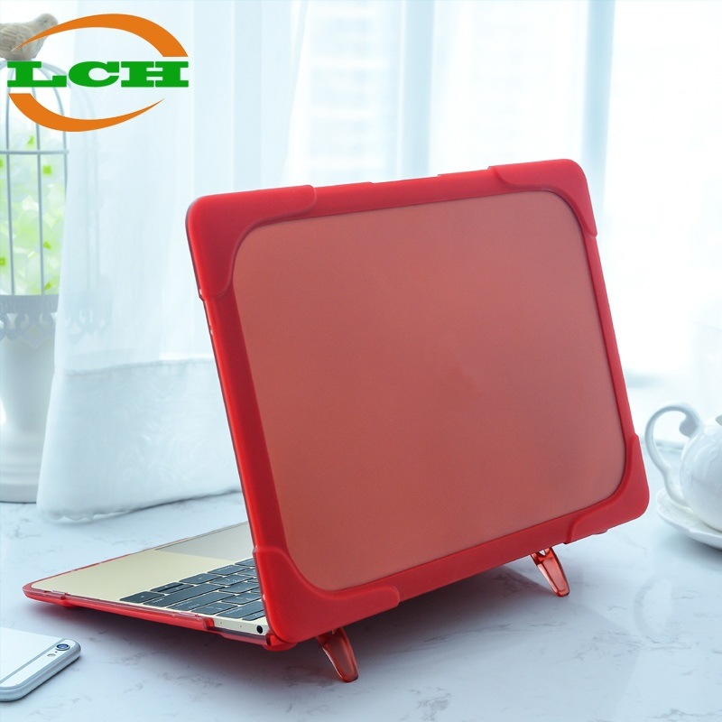 "Matte Clear Plastic+TPU Shockproof Case for MacBook Air 11.6""/PRO 12""/Air 13.3"""
