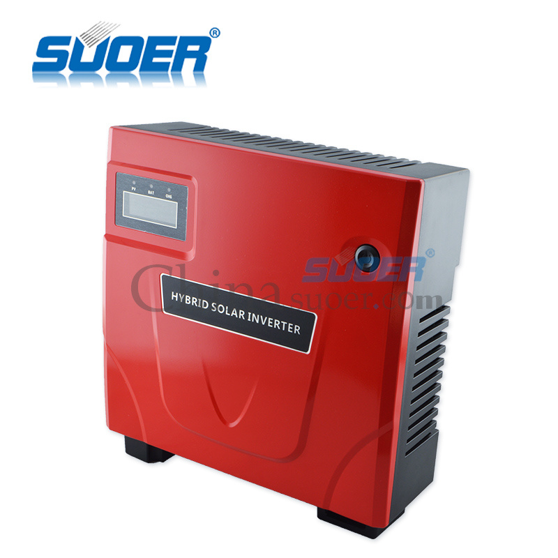 Suoer 800W Power Supply Power Inverter with Charger (SON-1400VA)