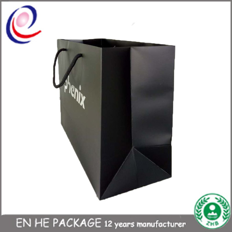 Offset Printing Food Package Paper Bag Kraft Paper Bag