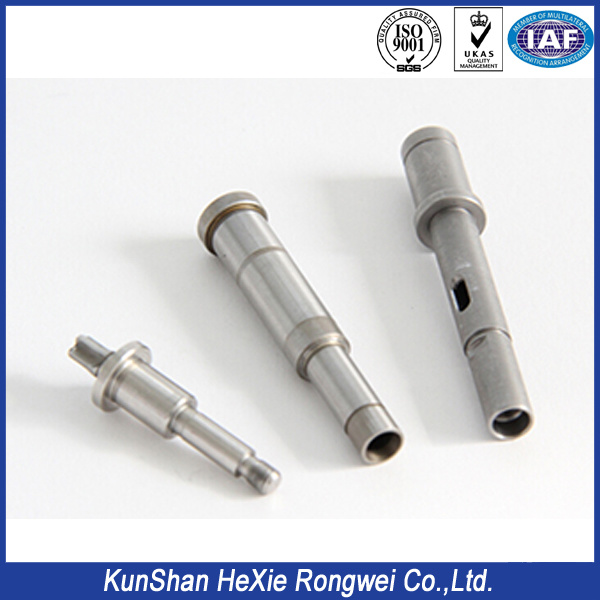 304 Stainless Steel Threaded Tube, Brushed Finish