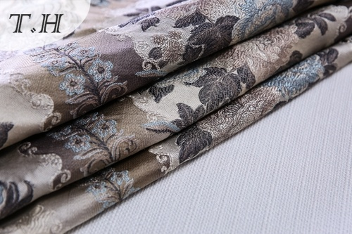 2017 100% Polyester Furniture Upholstery Jacquard Fabrics (FTH32108)