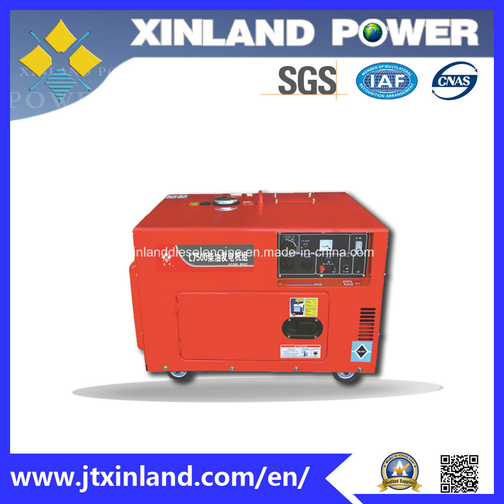 Single or 3phase Diesel Generator L7500s/E 60Hz with Cans