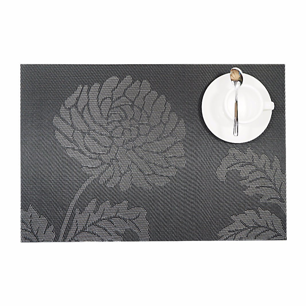 PVC Woven Placemat for Tabletop and Flooring