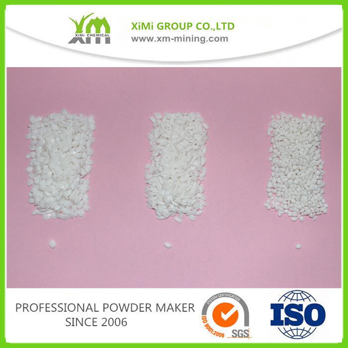 Plastics Product Raw Material Used High Whiteness Baso4 Filler Masterbatch