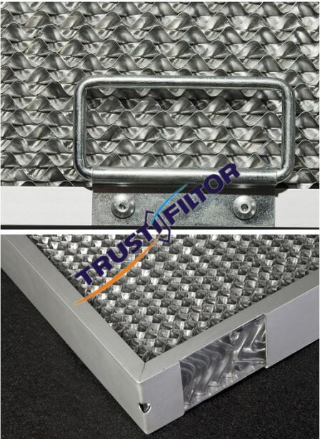 Rangehood Honeycomb Grease Filters for Commercial Kitchen Canopy 495 X 394 X 50