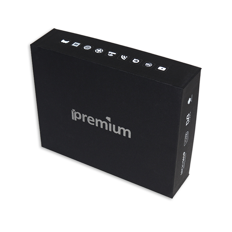 Ipremium Amlogical S905 Satellite Receiver Combo S2 TV Box with S2/T2/Isdbt