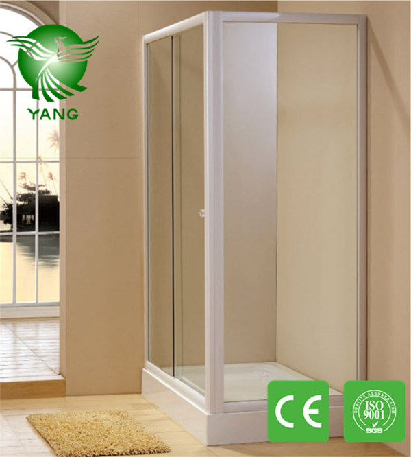 Stainless Steel Frame Sliding Shower Room Made in China