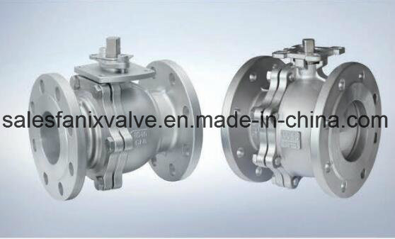 DIN Flanged Ball Valve (FLOATING BALL)