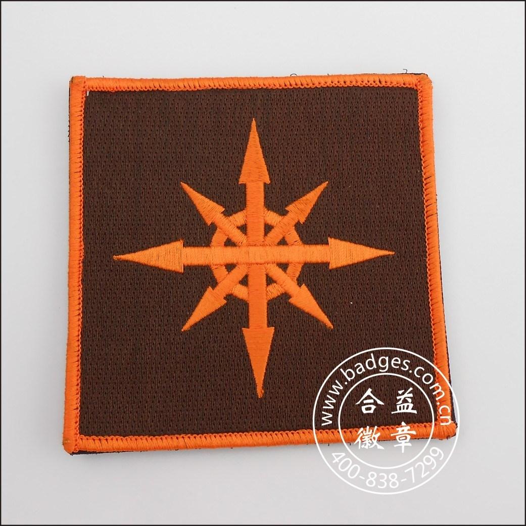 Embroidery Badge, Soft Emblem, Badge Manufacturers (GZHY-KA-089)