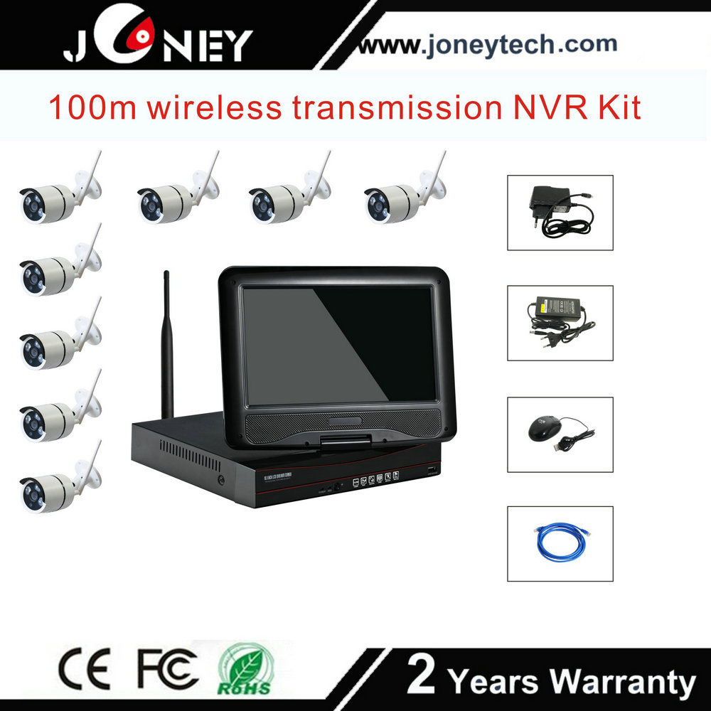 Wholesale Network Video Recorders 4 Channel CCTV IP Camera NVR Kit WiFi Wireless Cameras