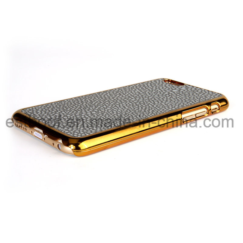 Second Layer Leather Simplity Style Phone Case for iPhone