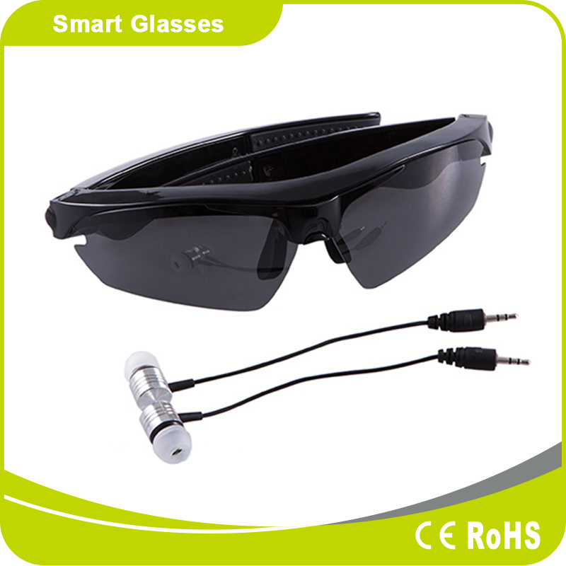 Smart Bluetooth V4.1 Music and Sport Sunglasses with Multi-Color Frame