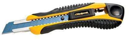 Hardware Tool 18mm Snap off Black Blade Plastic Cutter Knife