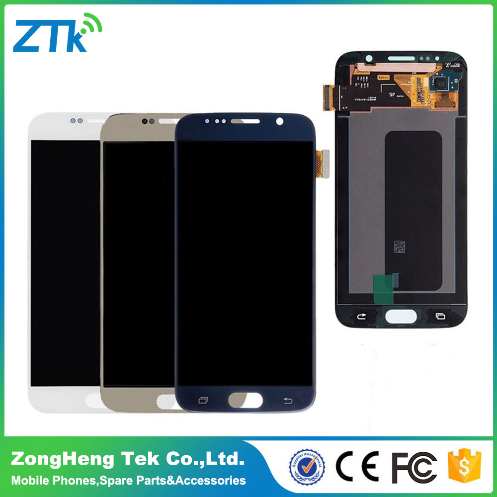 Mobile Phone LCD Touch Screen for Samsung Galaxy S6 LCD Display