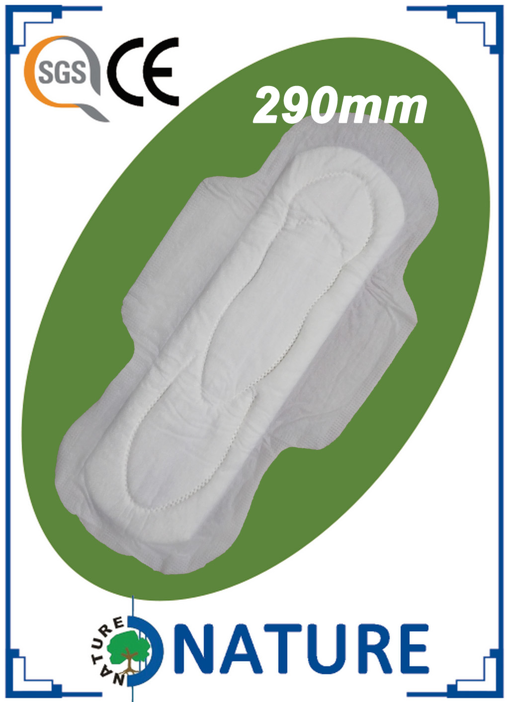 Supplier China Factory Sanitary Napkins with Wings