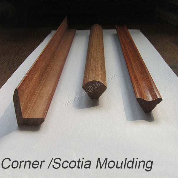 Flooring Accessories /Solid Wood Corner /Quarter Round /Scotia Moulding