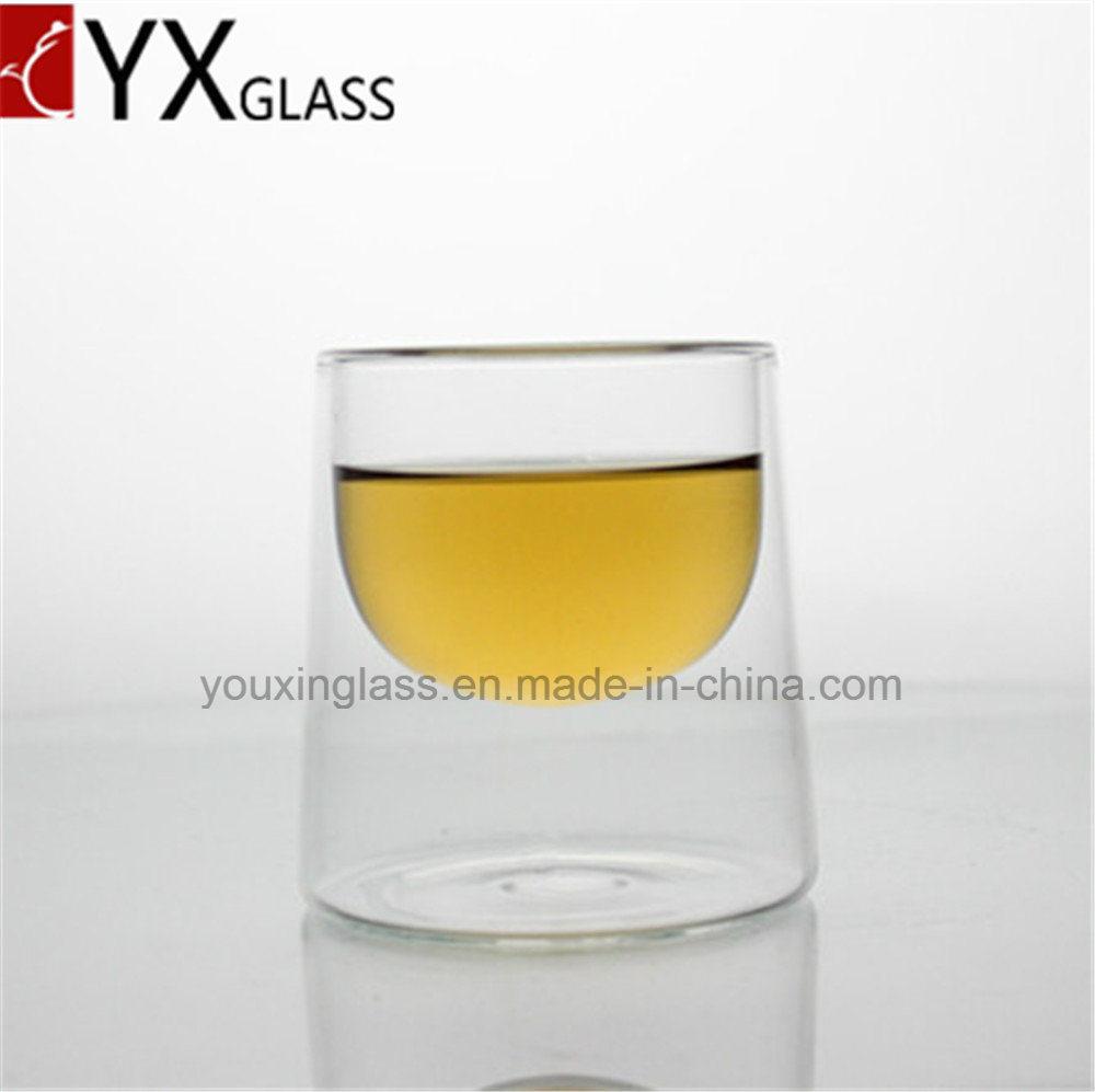 Borosilicate Glass Drinkware Double Wall Glass Tea Juice Wine Beer Milk Coffee Cup Mug/Espresso Drinking Glass Mug