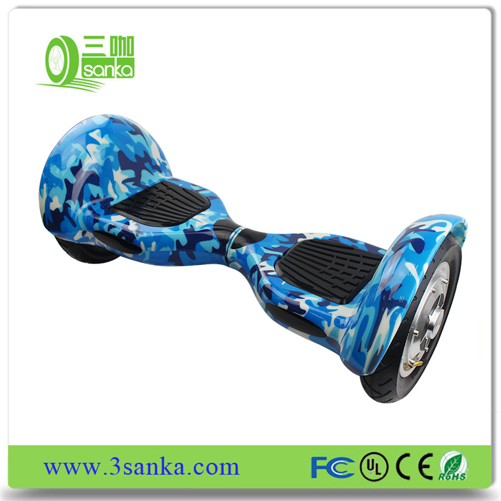 Professional Multifunctional Plastic Hoverboard and Oxboard with LED Light