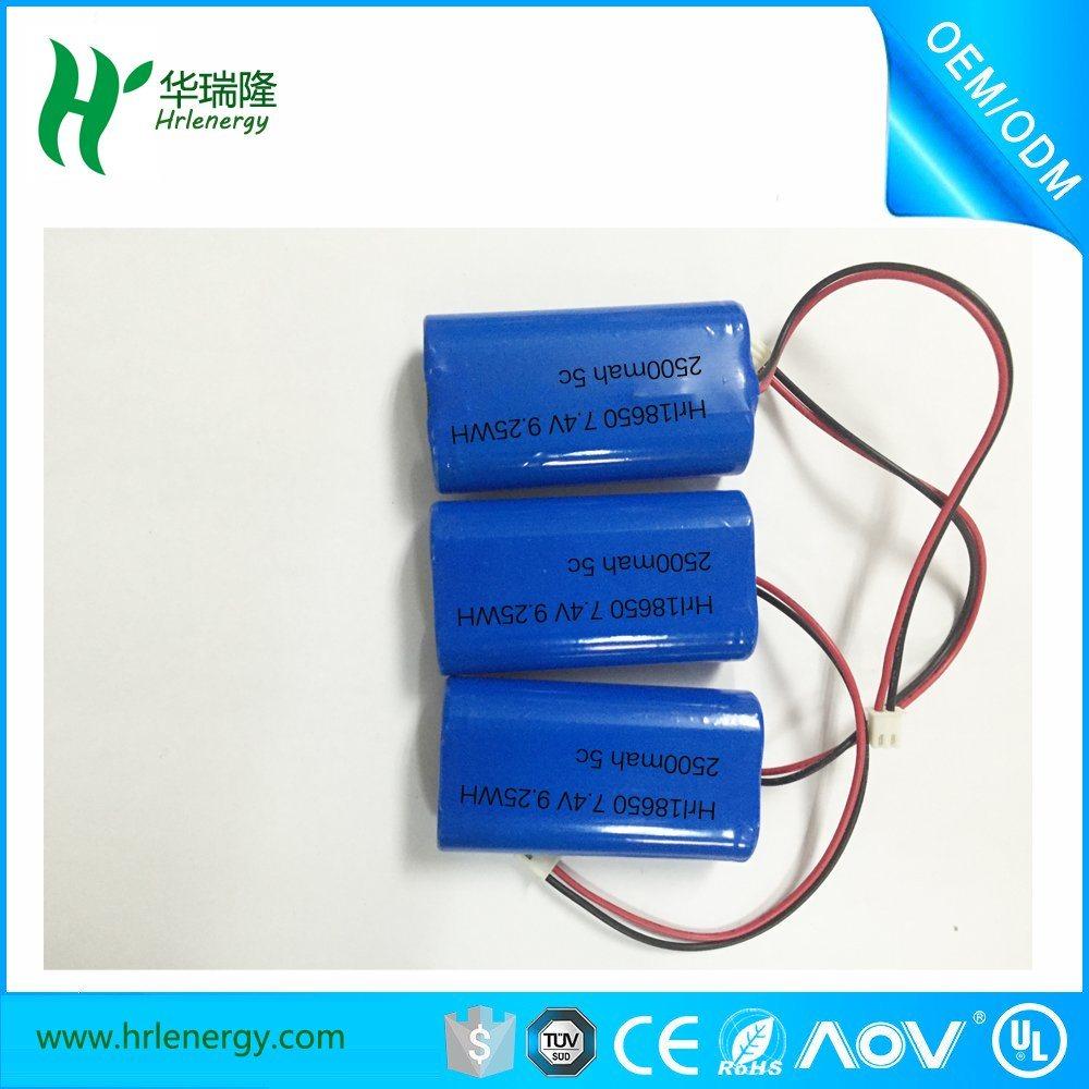 Lithium Ion Battery Pack (7.4V/4400mAh)