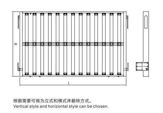Multifunctional Foldaway Bed Mechanism Hardware