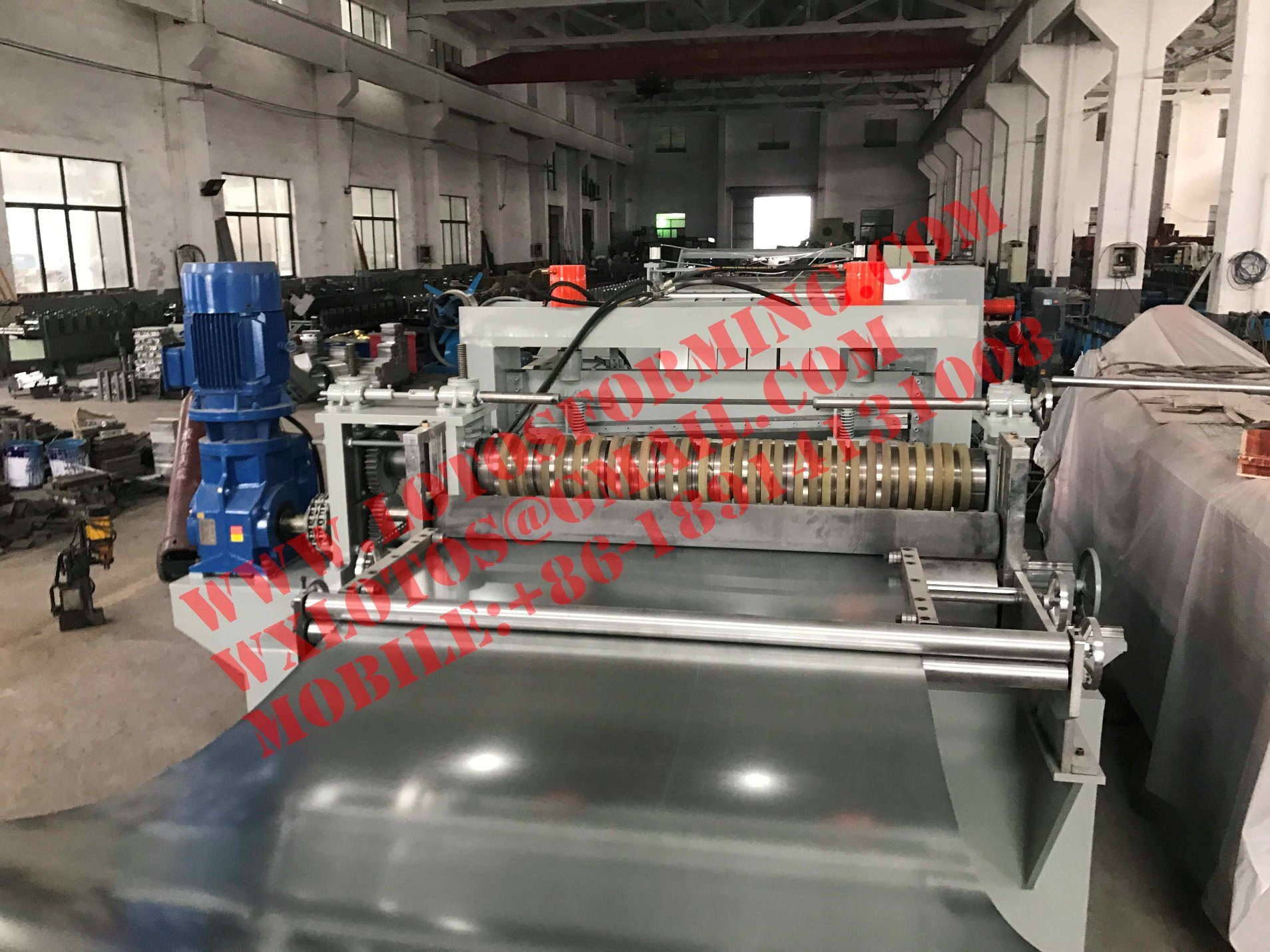 Automatic Steel Plate Slitting Line Machine