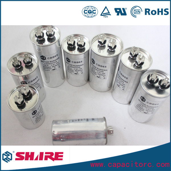 Air Conditioner Capacitors, Motor Run Capacitor for Air Conditioning