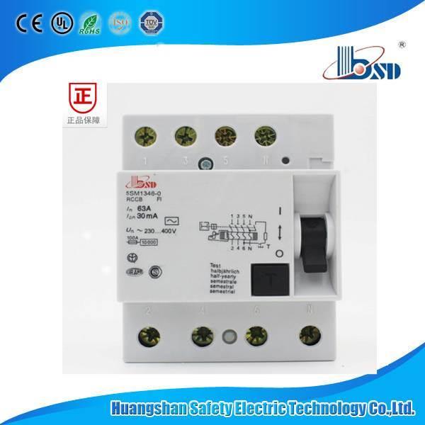 5sm1 Residual Current Circuit Breaker, Siemens RCCB