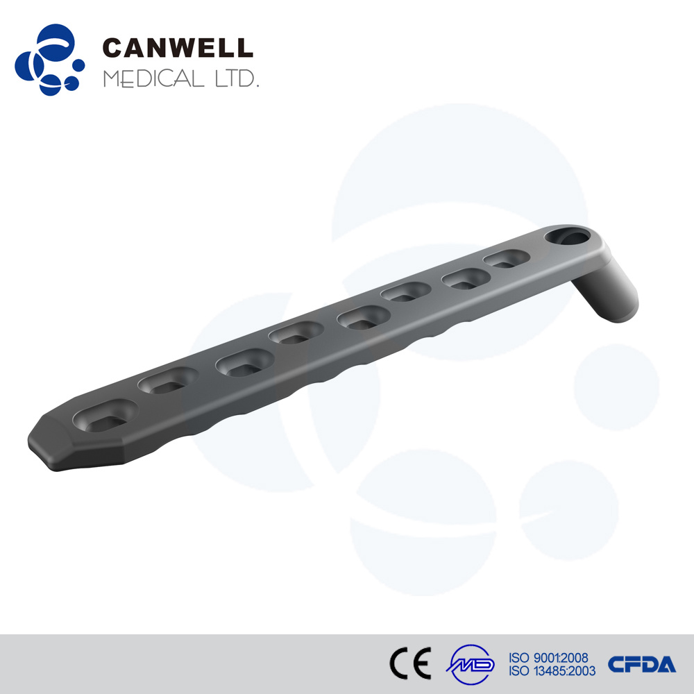 Canwell Dynamic Hip Plate 135degree, with LC-Undercuts Candhs Medical Supply