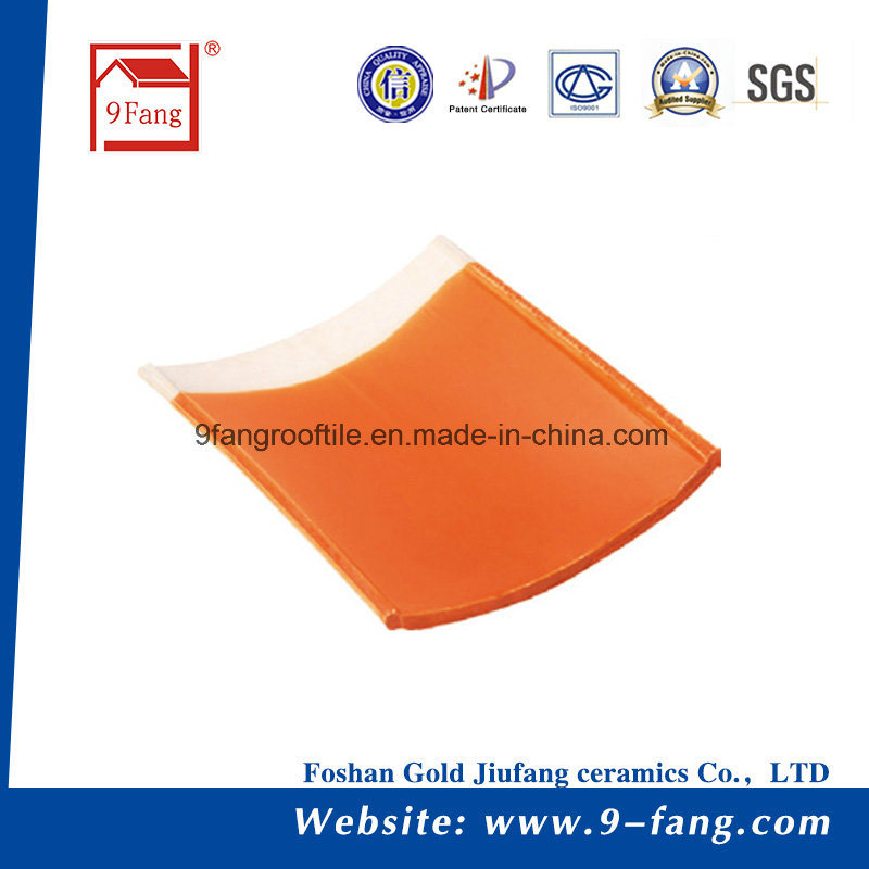 Chinese Roof Tile Interlocking Villa Ceramic Roofing Tile Clay Roof Tile