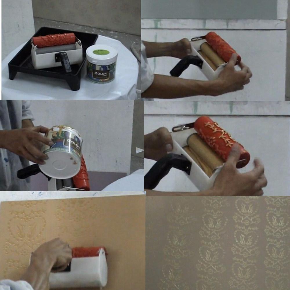 Home Improvement Tools Patternd Paint Roller