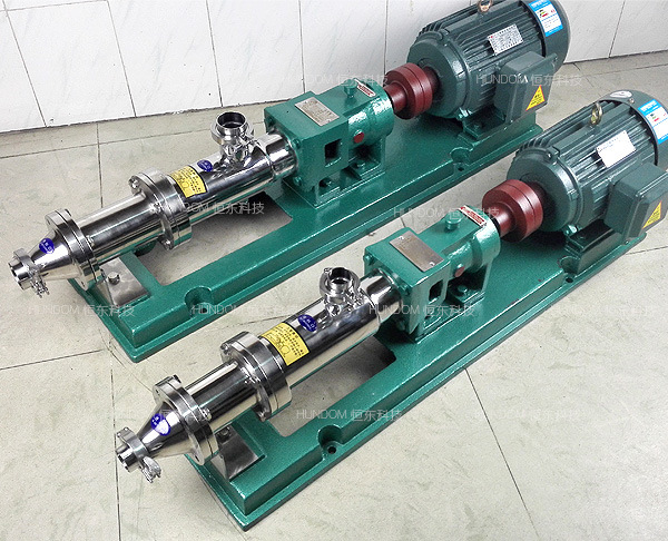 Industry Wastewater Treatment Pump Progressing Cavity Pump