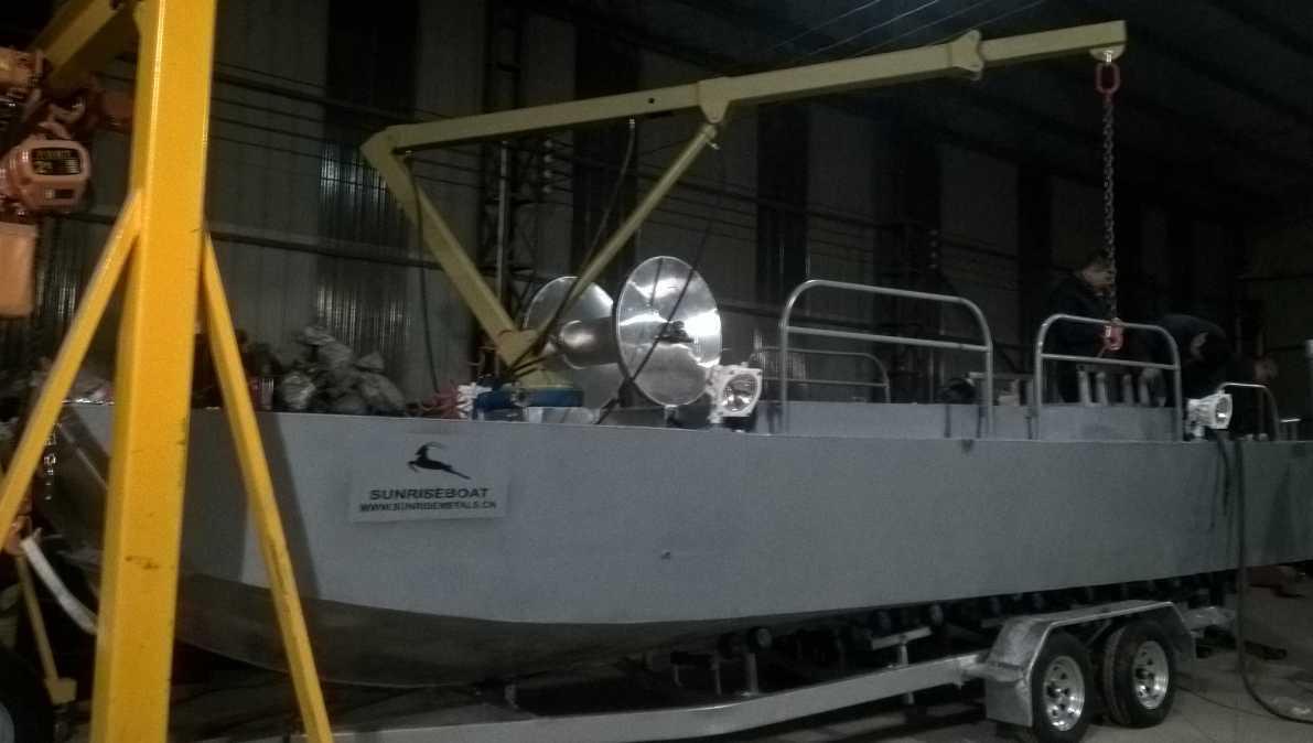 Aluminium Working Pontoons Ws7-28