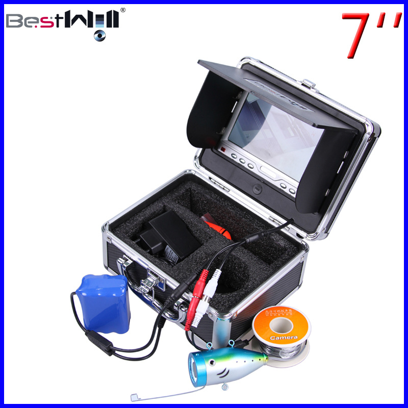 HD 1000tvl Underwater Fishing Camera Ice Fishing Video Camera of CR110-7LS with 15m to 80m Cable