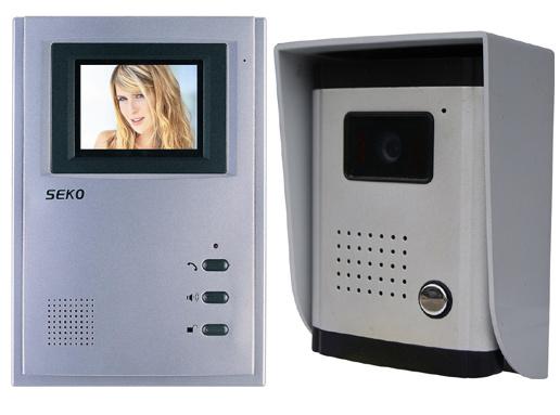 4 Inch Hands Free Color Video Door Phone