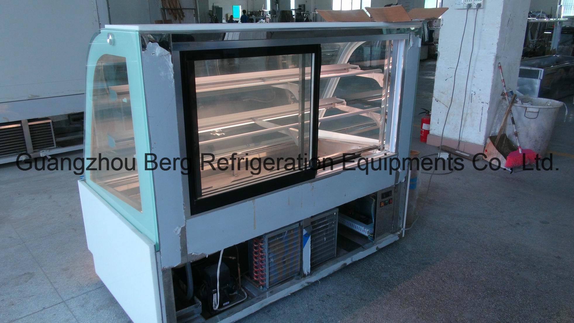 Commercial Marble Cake Refrigerator for Pastry Stores with CE