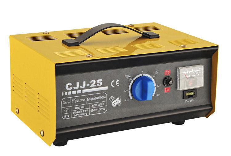 Battery Charger for 6V/12V/24V Battery