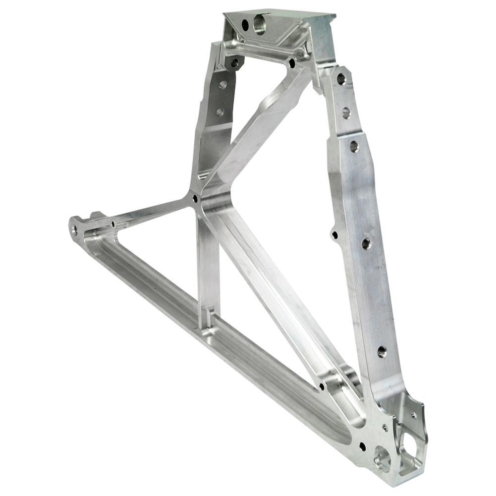 OEM Aluminum Parts Aerospace Machinery Part, Precision Turning Part, High Quality Aluminum Part